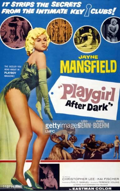 Playgirl After Dark poster left Jayne Mansfield 1960