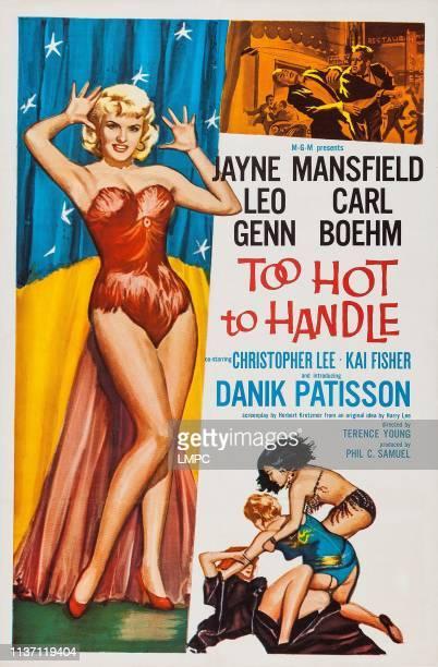 Playgirl After Dark poster US poster art Jayne Mansfield 1960