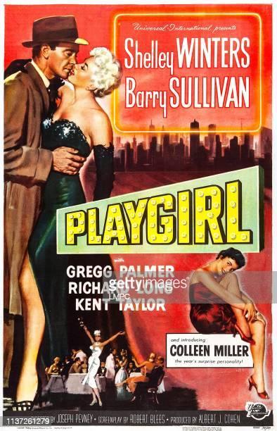 Playgirl poster US poster art Barry Sullivan 1954