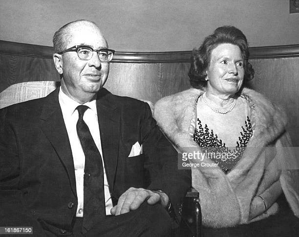 MAY 13 1965 MAY 14 1965 MAY 18 1965 Playgoers At Opening Of Bonfils Theater Mr and Mrs Marcus Bogue Jr were among firstnighters out to see the...