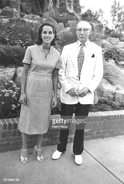 JUN 26 1978 JUN 27 1978 Playgoers at 'The Magic Show' Miss Laurie Hawley an alumna of Dartmouth College heads for theater with grandfather L N...