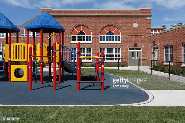 playground and school - image stock pictures, royalty-free photos & images