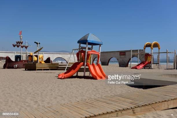 Playground at La serena beach, Coquimbo Region, Nothern Chile