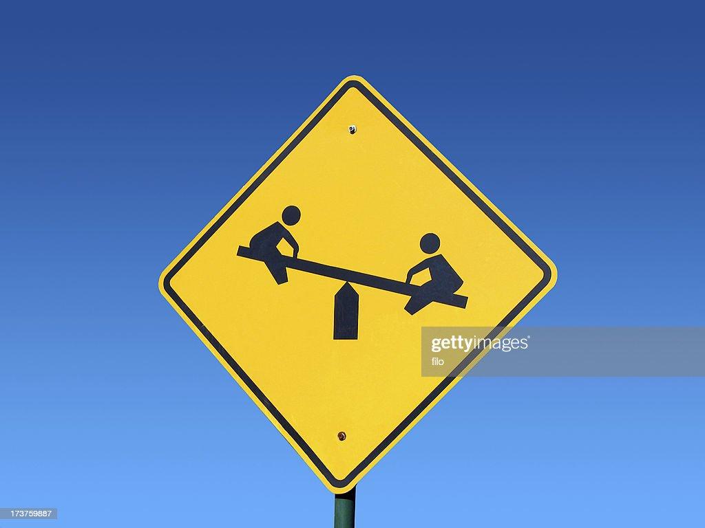 Playground Sign : Stock Photo