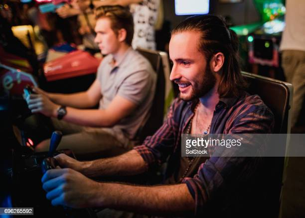 Playing Arcade Driving Games