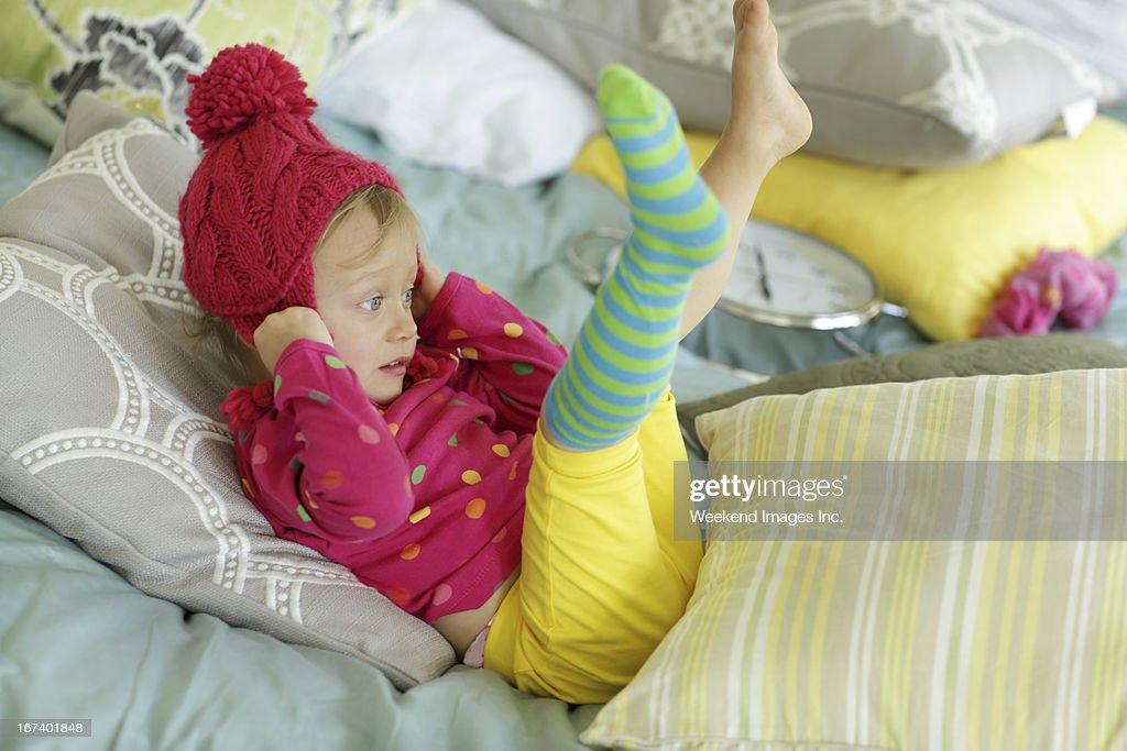 Playing baby : Stock Photo