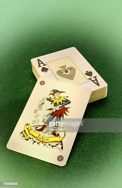playing cards - wild card stock pictures, royalty-free photos & images