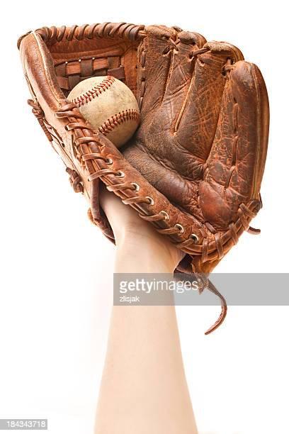 キャッチボール野球用グローブ