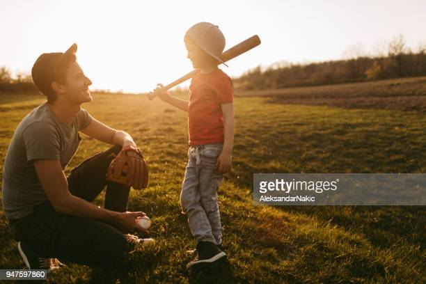 playing catch with my dad - baseball glove stock pictures, royalty-free photos & images