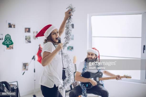 Playing Christmas Music