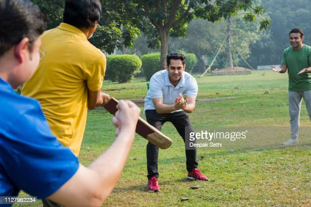 playing cricket - stock images - cricket player stock pictures, royalty-free photos & images