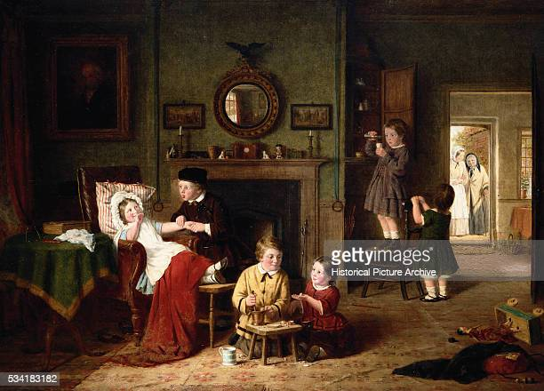 Playing Doctors by Frederick Daniel Hardy