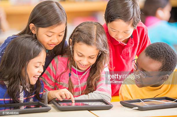 Playing Educational Games on a Digital Tablet