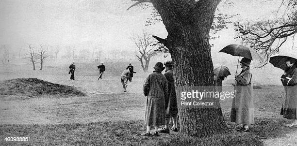 Playing golf on Tooting Bec Common London 19261927 From Wonderful London volume II edited by Arthur St John Adcock published by Amalgamated Press
