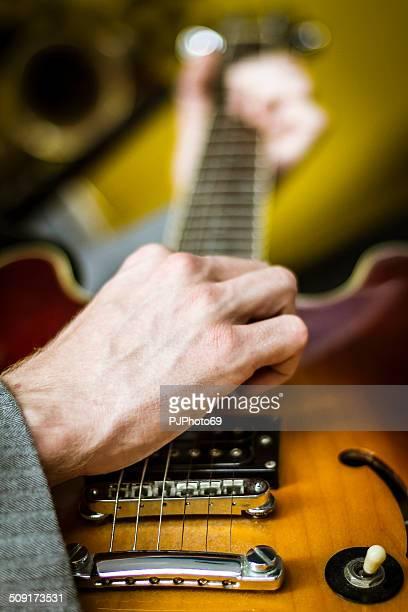 playing guitar - 50's style - pjphoto69 bildbanksfoton och bilder
