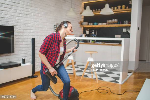 playing in a band - tv housewife stock photos and pictures