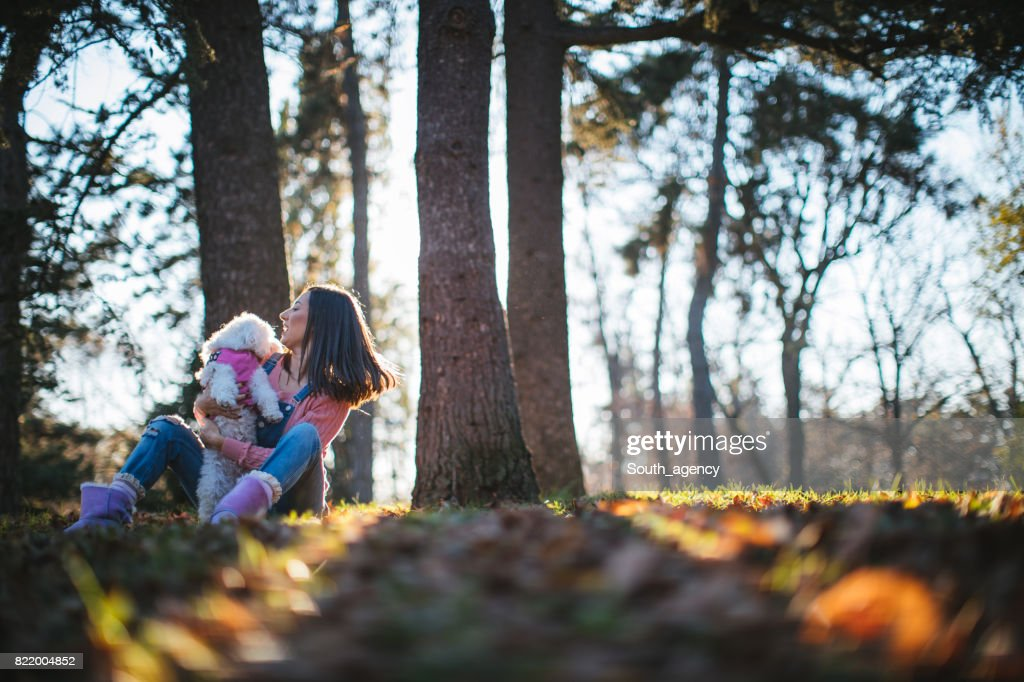 Playing in park : Stock Photo