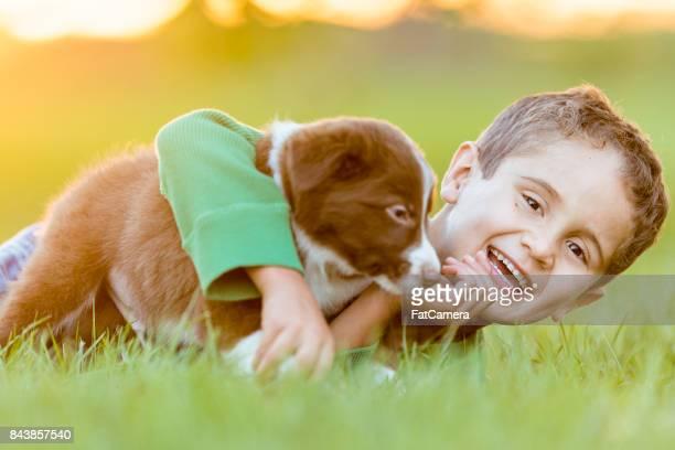 Jugando en la hierba