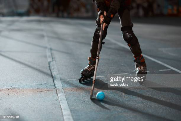 playing in the park - inline skate stock photos and pictures