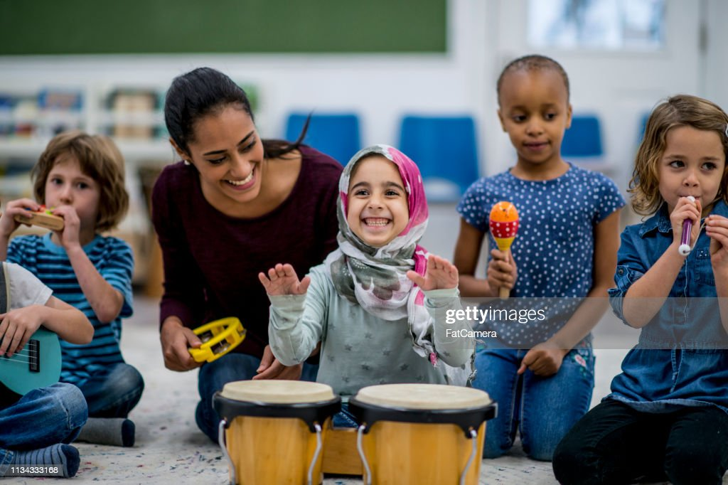 Playing Instruments : Stock Photo