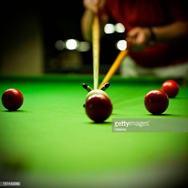 snooker spielen Spiel