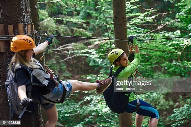 Spielen Zeit im Wald