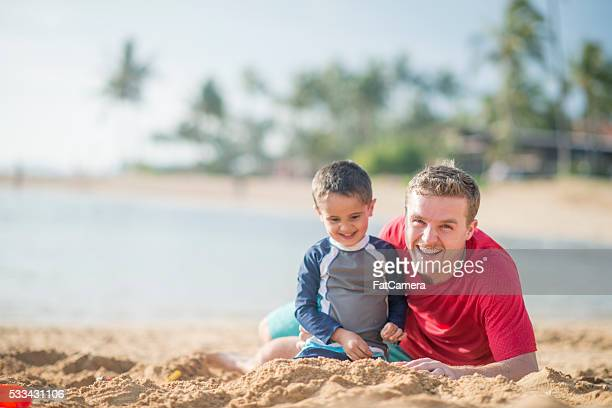 Playing Together in the Sand