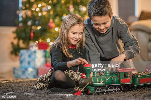 Playing Together with a Train