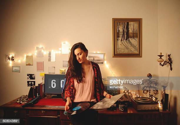 Spielt vinyl records
