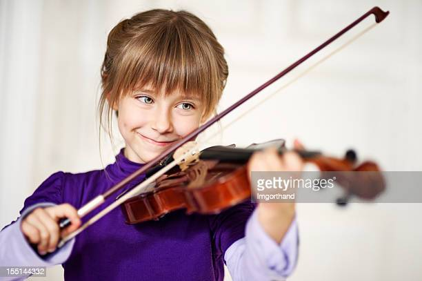 Spielt Violine