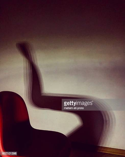 playing with shadows - bauhaus art movement stock pictures, royalty-free photos & images