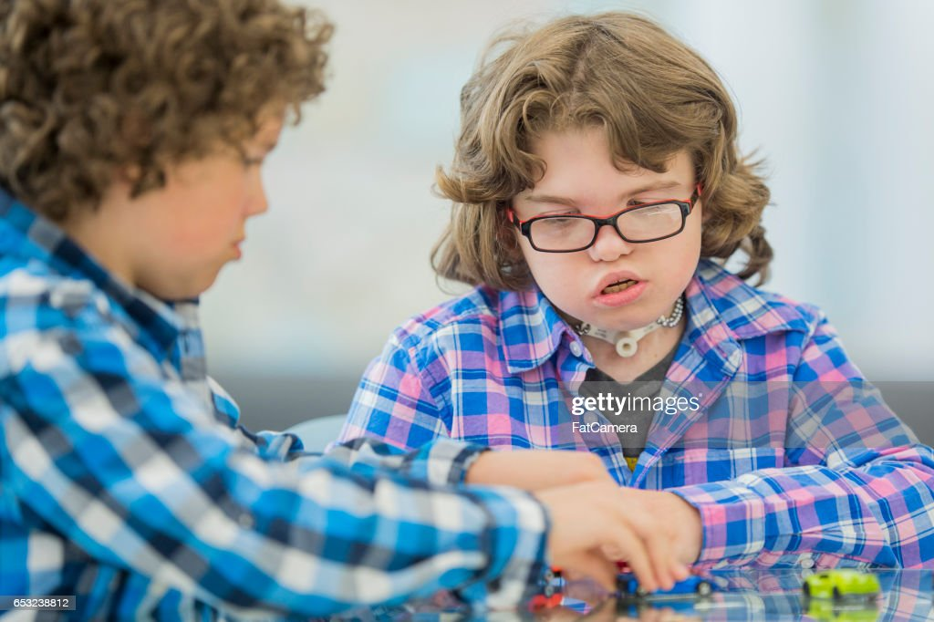 Playing with Toy Cars : Foto stock