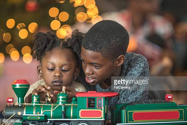 Playing with Toy Trains