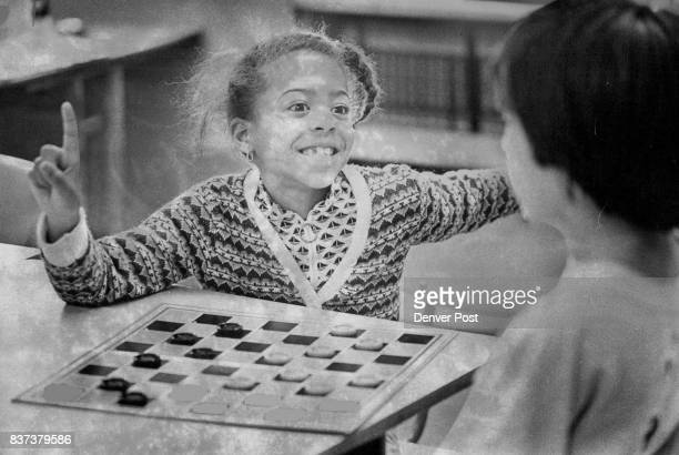 Playing With Zest When Dana Roper a firstgrader at Ellsworth Elementary School 27 S Garfield St plays checkers she does it with zest She and a...