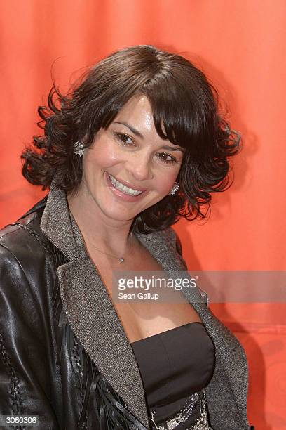 "Playmate Gita Saxx attends the European premiere of ""Starsky And Hutch"" on March 9, 2004 in Munich, Germany."
