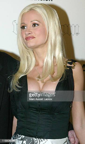 Playmate Holly Madison during Hugh Hefner Celebrates His 80th Birthday At The VIP Room In Paris May 29 2006 at VIP Room in Paris France