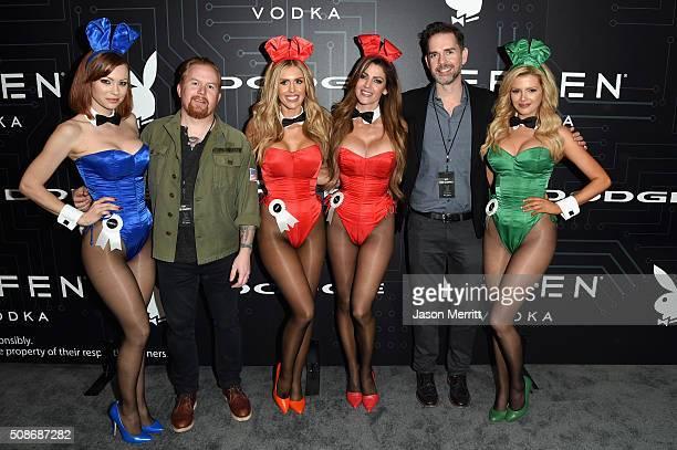 Playmate Kimberly Phillips Editorial Director of Playboy Enterprises Inc Jason Buhrmester playmates Kayla Rae Reid Crystal McCahill Chief Content...