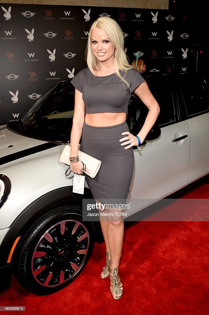 The Playboy Party At The W Scottsdale During Super Bowl Weekend - Arrivals