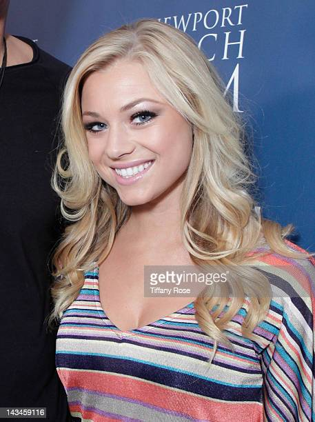 Playmate Nikki Leigh attends the World Premiere Of Jewtopia at the Newport Beach Film Festival at Edwards Big Newport 300 on April 26 2012 in Newport...