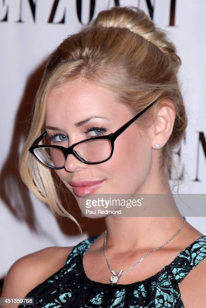 Playmate of the Year 2014 Kennedy Summers attending Enzoani 8th Annual Fashion Event at Dolby Theatre on June 27 2014 in Hollywood California