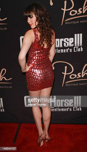 Playmate of the Year Claire Sinclair celebrates her 21st birthday at Crazy Horse 111 and Posh Boutique Nightclub on May 26 2012 in Las Vegas Nevada