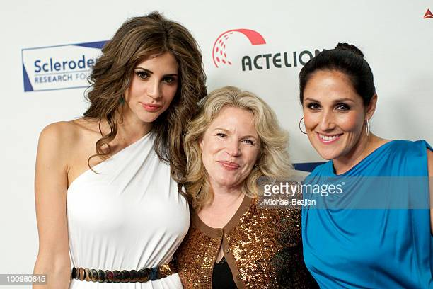 Playmate of the Year Hope Dworaczyk actress Marla Garland and TV personality Ricki Lake attend The Cool ComedyHot Cuisine Fundraiser To Benefit The...