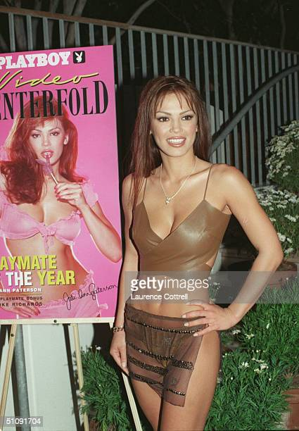 Playmate Of The Year Jodi Ann Paterson Poses For A Photo During A Playboy Party At The Skybar April 27 2000 In West Hollywood Ca
