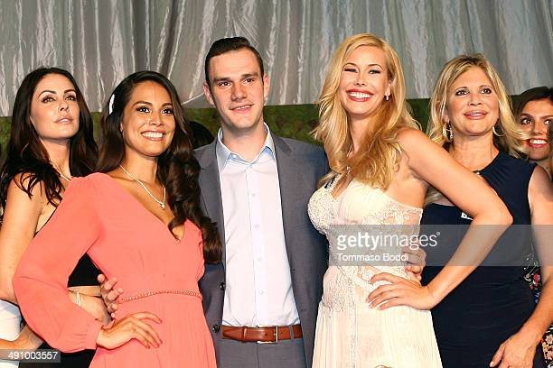 Playmate Of The Year Raquel Pomplun Cooper Hefner 2014 Playmate Of The Year Kennedy Summers and Playboy Playmates attend the Playboy's 2014 'Playmate...