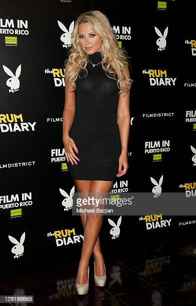 Playmate Tiffany Toth attends FilmDistrict's The Rum Diary Premiere After Party Hosted By Playboy and The Rums of Puerto Rico at The Chateau Marmont...