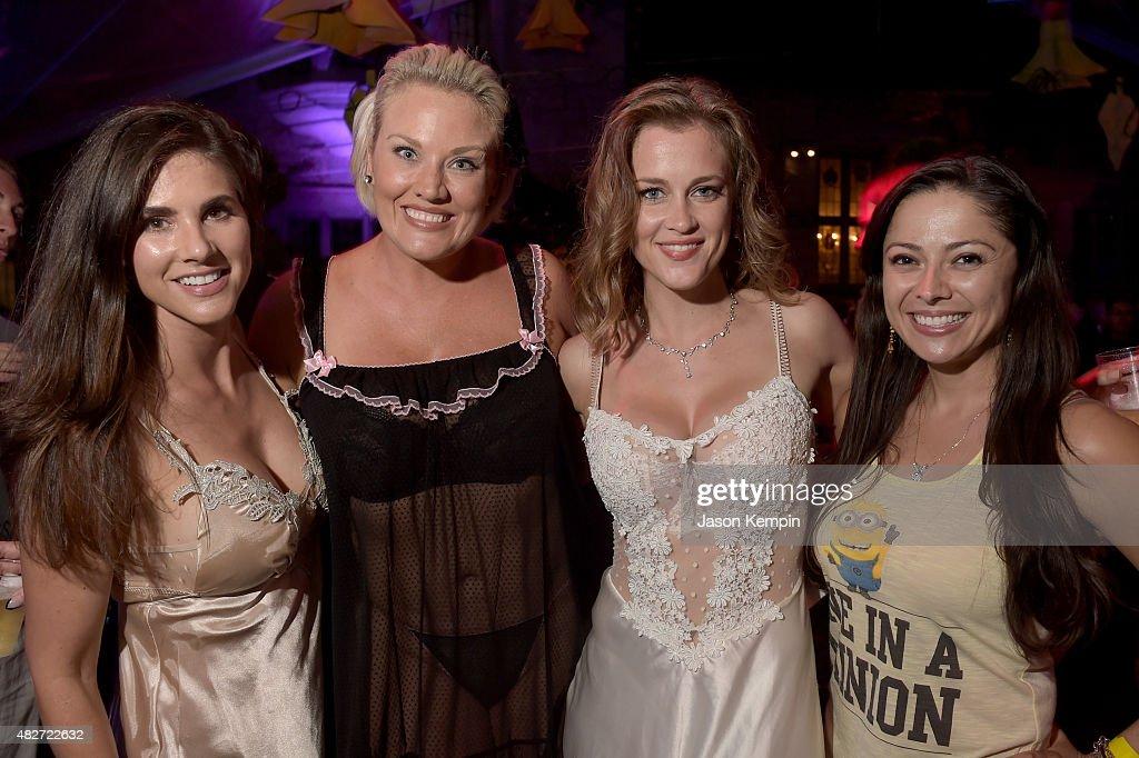 Hugh Hefner Hosts Annual Midsummer Nights Dream Party At The Playboy Mansion News Photo