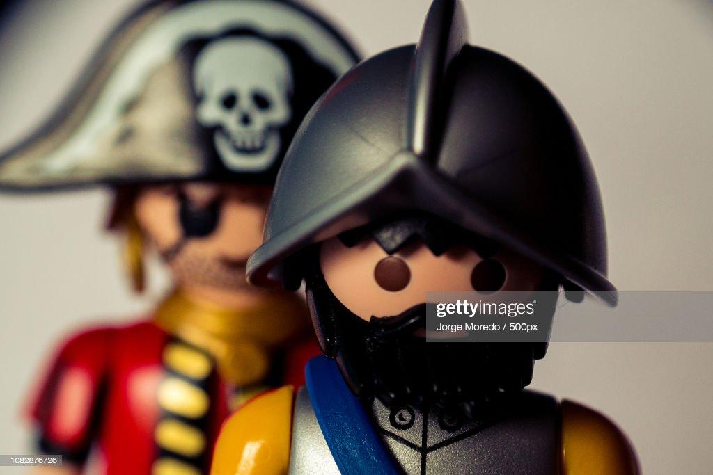 playmobil piratas : Stock Photo