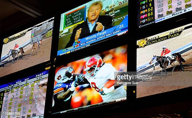 NFL playoff games joins horse racing in being legalized for wagering in the state of Delaware and gamblers took advantage of it at Delaware Park on...