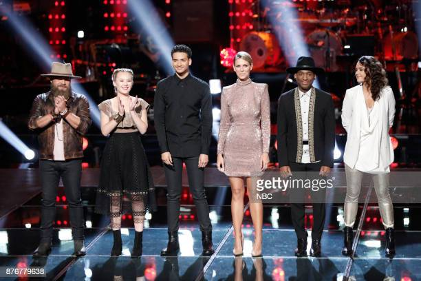 THE VOICE Playoff Rounds Pictured Adam Cunningham Addison Agen Anthony Alexander Emily Luther Jon Hero Whitney Fenimore