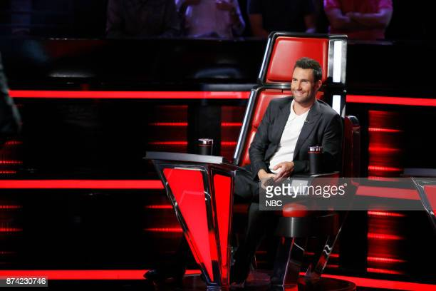 THE VOICE Playoff Rounds Pictured Adam Levine